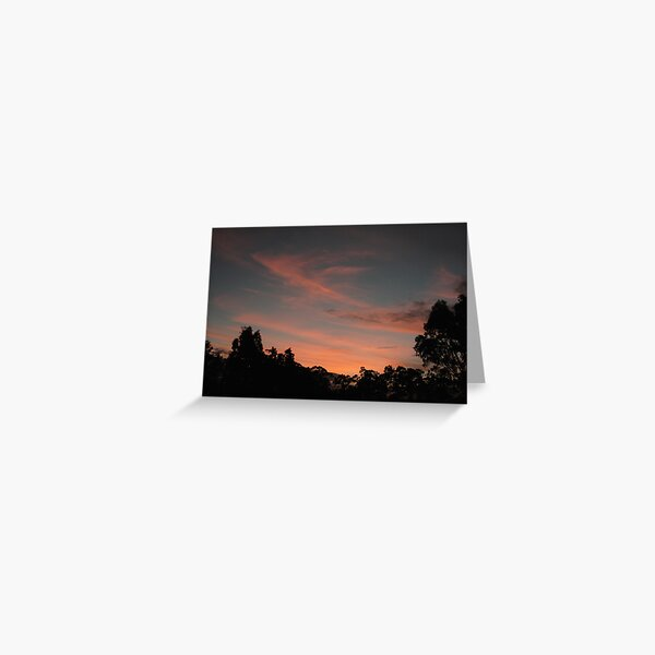 ~Balhannah Sunset~ Greeting Card