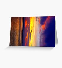 sunset part 17 Greeting Card