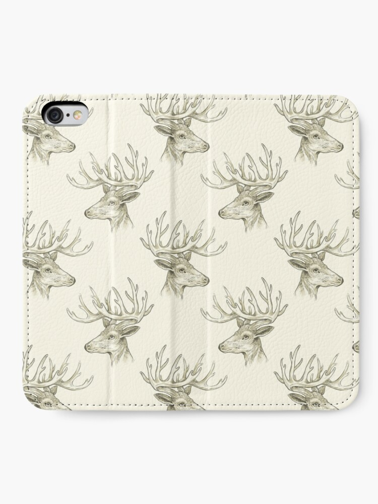 Alternate view of A Deer iPhone Wallet