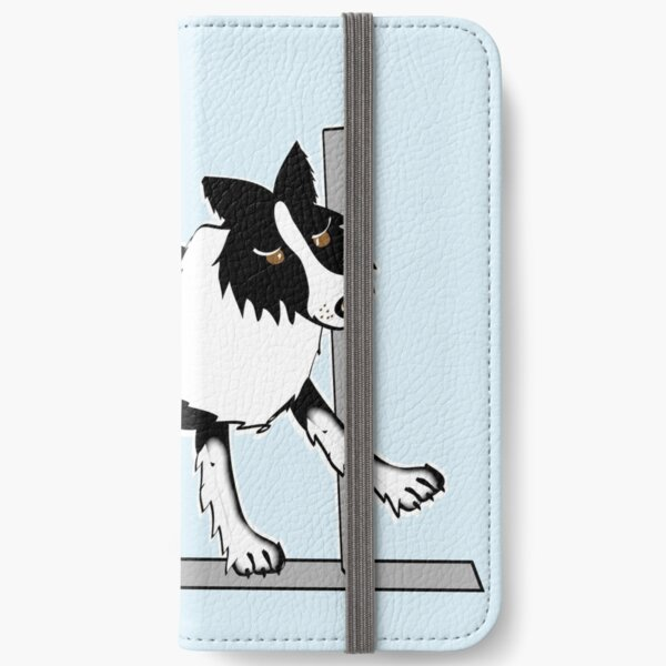 Border Collie 2 iPhone Wallet