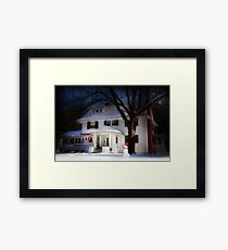 Once Upon a Midnight Framed Print