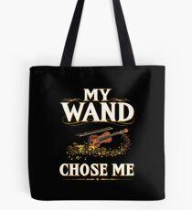 Bolsa de tela My Wand Choose Me Funny Cita Viola Instrumento de cuerda
