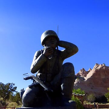 Navaho Code Talkers, Memorial.   by Sita