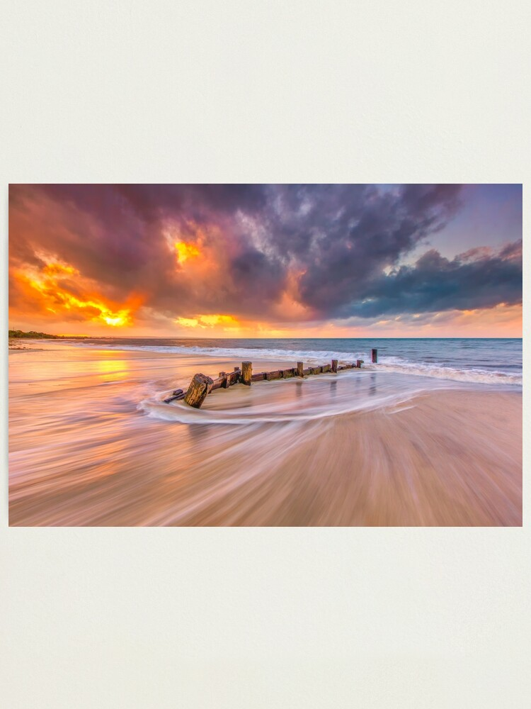 Alternate view of Geographe Bay, Western Australia Photographic Print