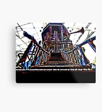 Psychedelic Castle Metal Print
