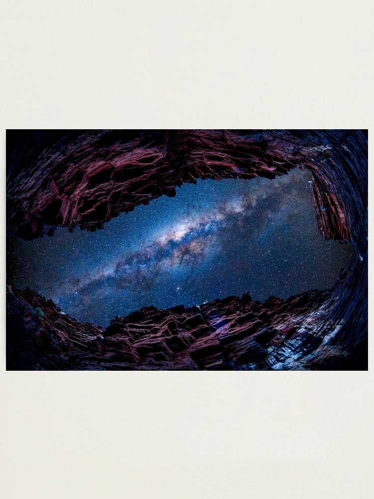 Alternate view of Eye to the Galaxy Photographic Print