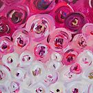 Tickled Pink (cropped detail) by TraceyMackieArt