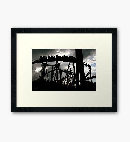 Coasting Framed Print