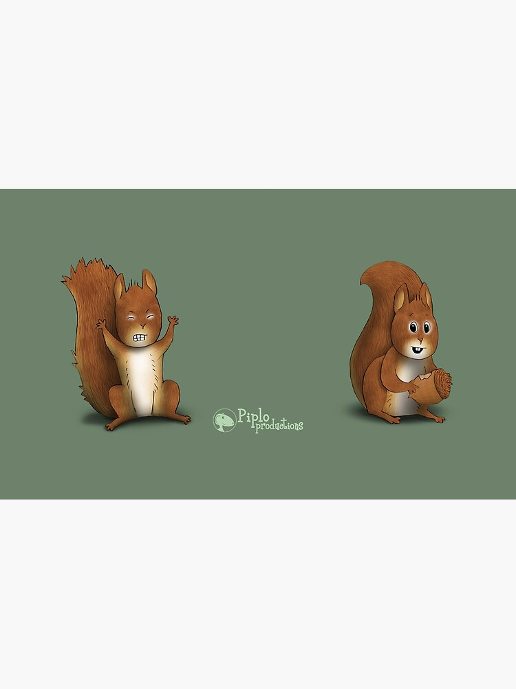 Two Moods of Squirrel by piploproduction