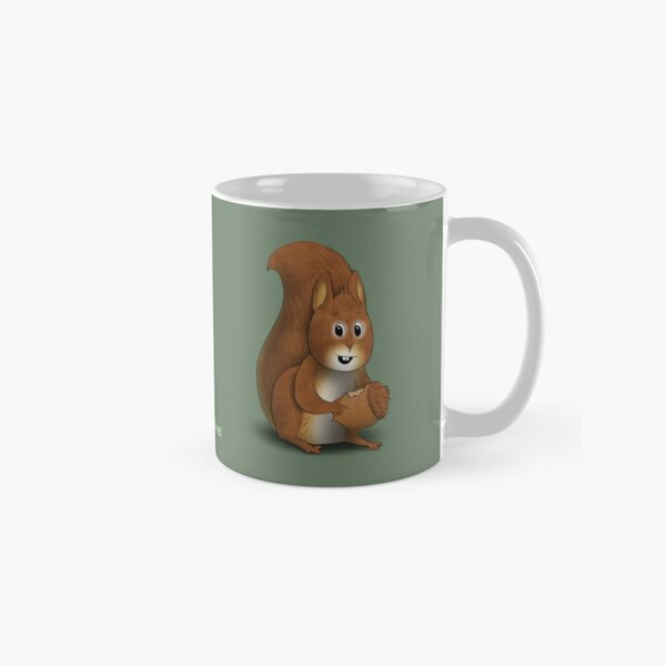 Two Moods of Squirrel Classic Mug