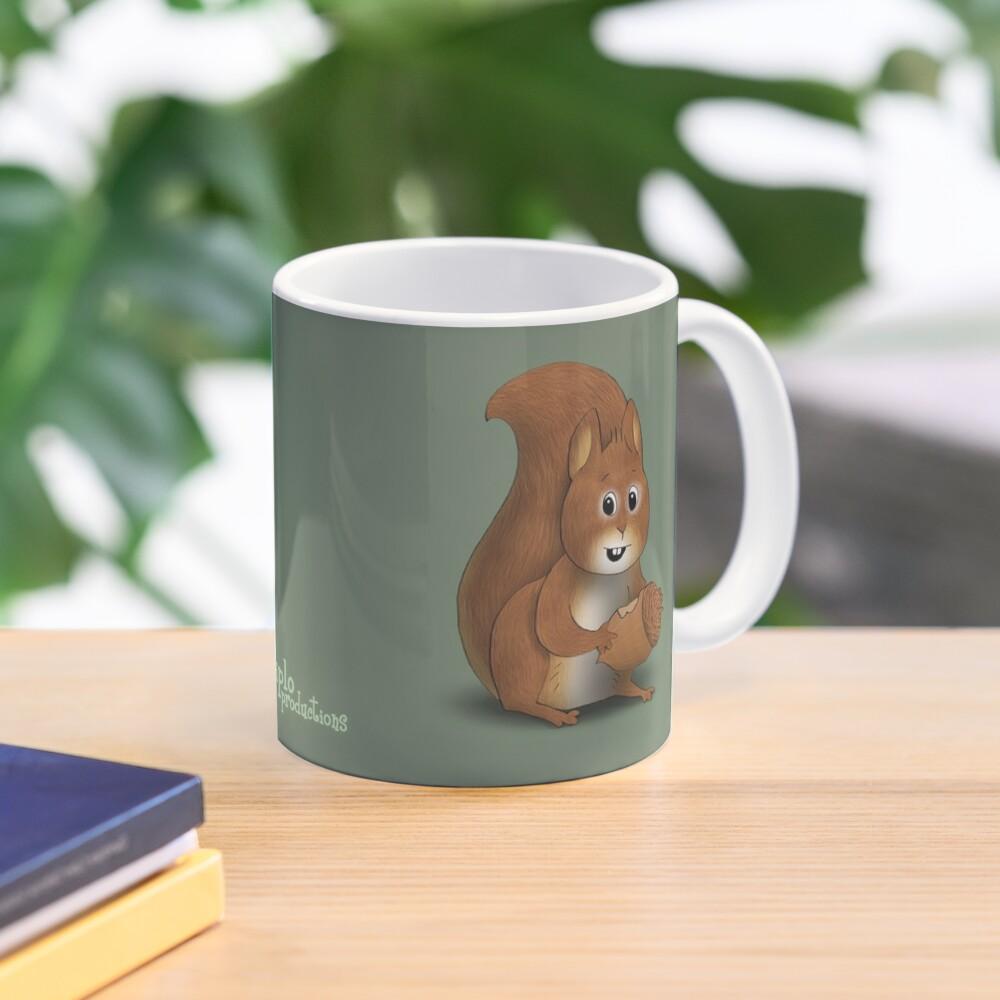 Two Moods of Squirrel Mug
