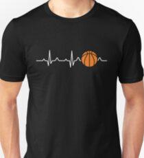 Basketball Herzschlag Unisex T-Shirt