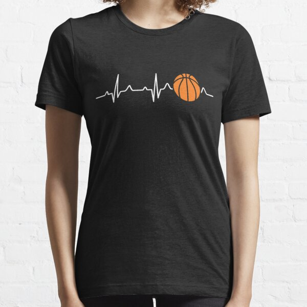 Basketball Heartbeat Essential T-Shirt