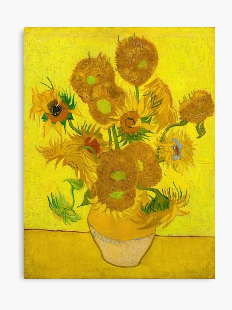 Vincent Van Gogh Sonnenblumen Vase Stillleben Leinwanddruck Von