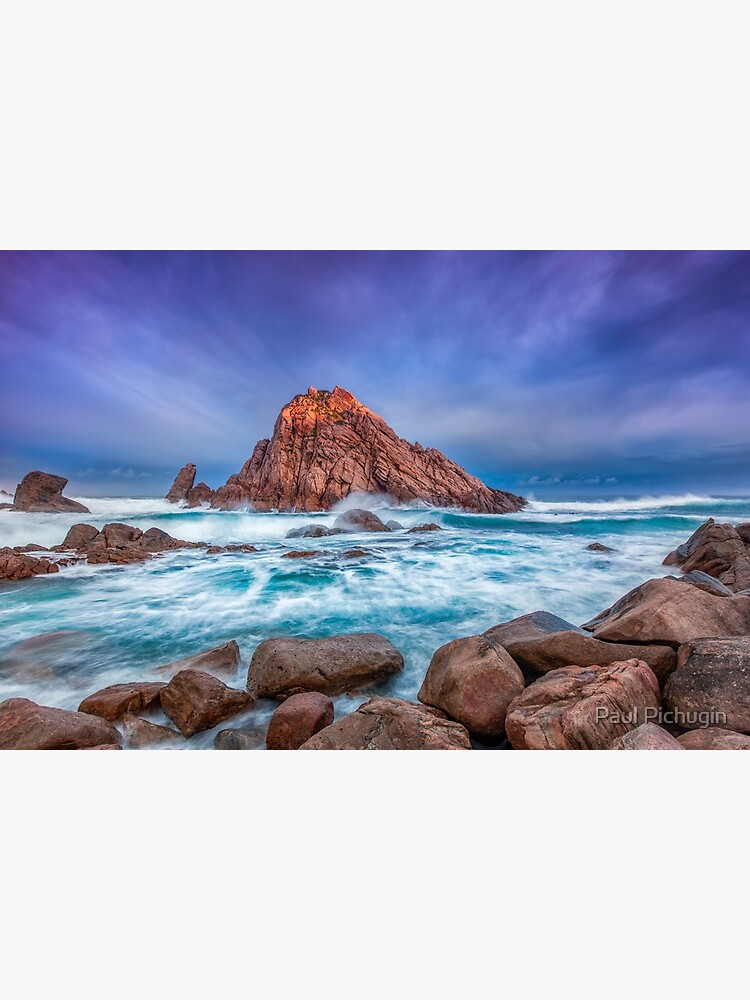 Sugarloaf Rock Sunrise by paulmp