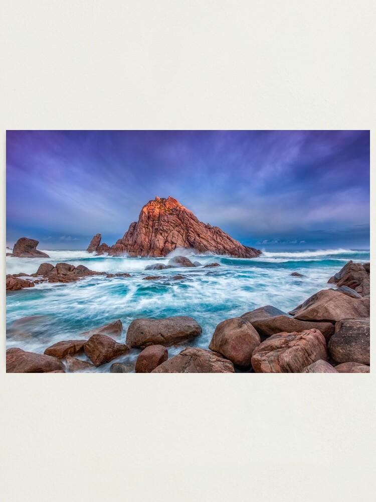 Alternate view of Sugarloaf Rock Sunrise Photographic Print