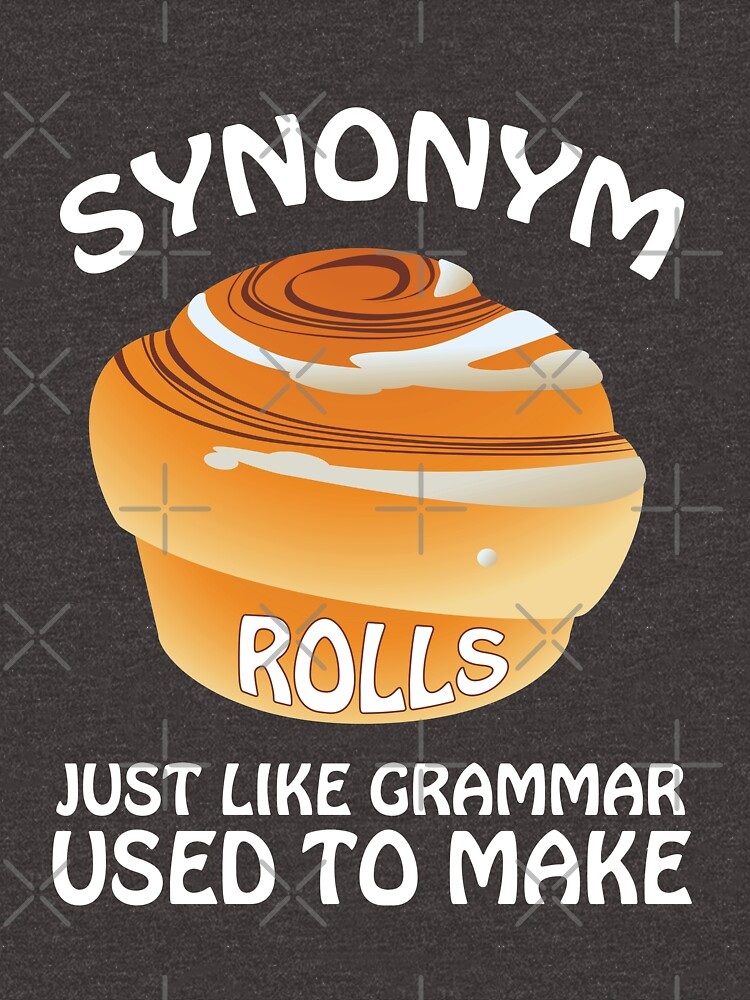 Synonym Rolls Like Grammar Used To Make Pun by JapaneseInkArt
