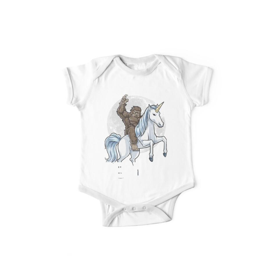36cd0acd Bigfoot Riding Unicorn T Shirt Funny Sasquatch Vintage Tees
