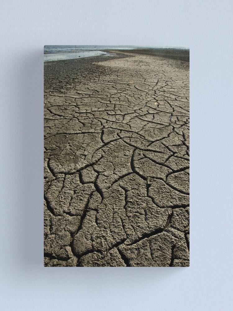 Alternate view of Salton Sea: Evaporation Canvas Print