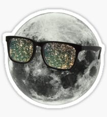 Cudi Moon Shades Sticker