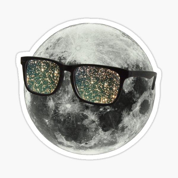 Cudi Moon Shades Sticker