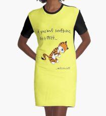 Tiger-Philsosophy Graphic T-Shirt Dress