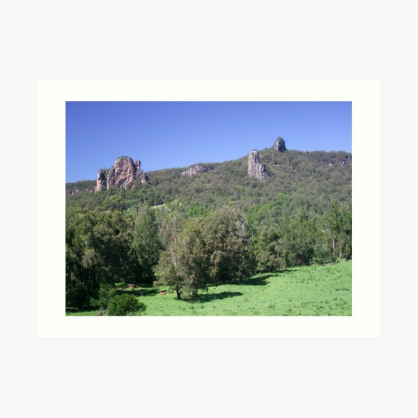 Nimbin Rocks Art Print