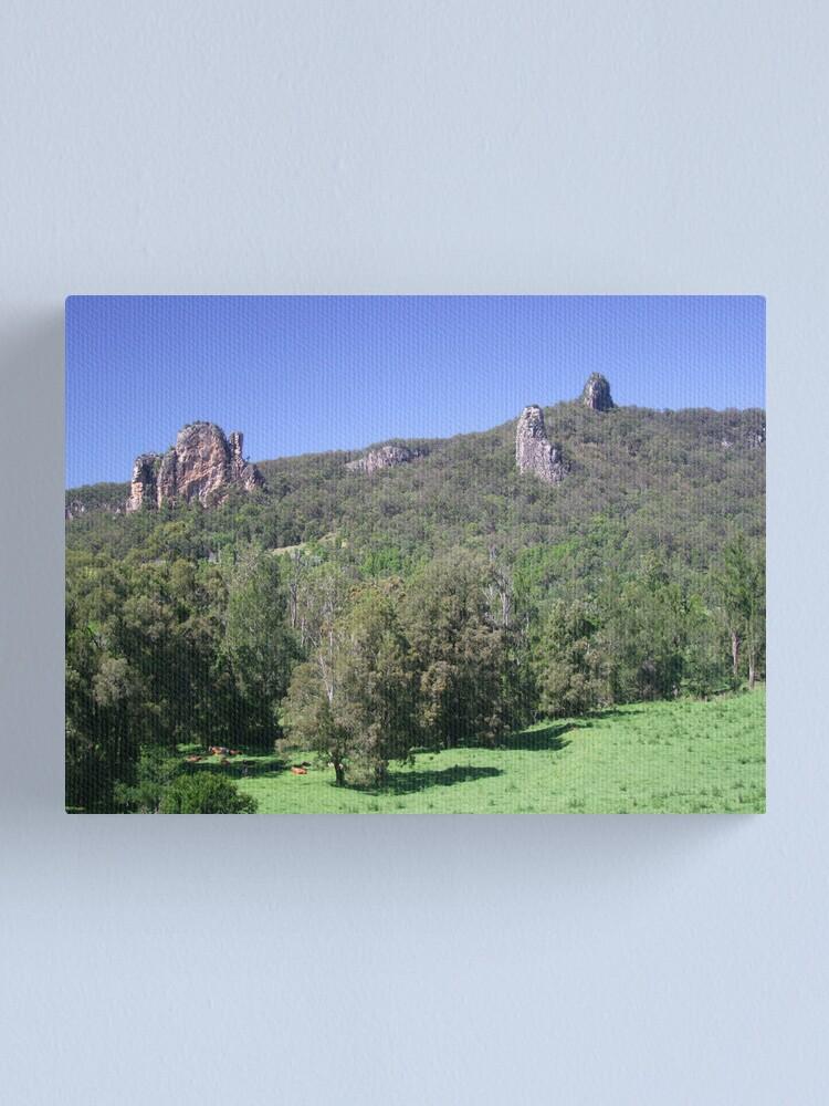 Alternate view of Nimbin Rocks Canvas Print