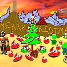 A Christmas Party on the Flying Saucer Frog Planet by Dennis Melling
