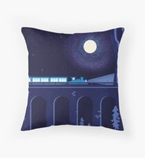 Oriental Express Throw Pillow