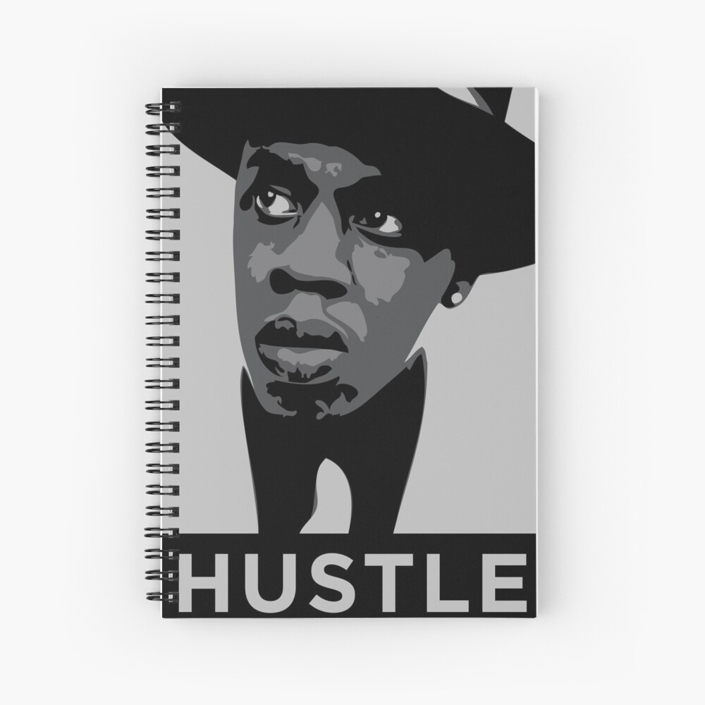Hustle Spiral Notebook