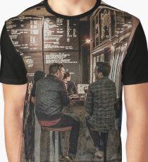 Market Cafe Graphic T-Shirt