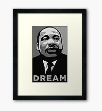 MLK: DREAM Framed Print