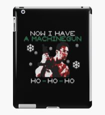 UGLY CHRISTMAS MACHINEGUN iPad Case/Skin