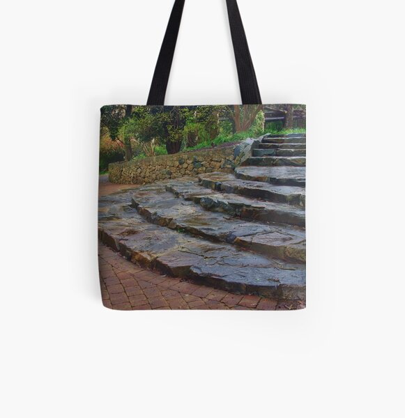 Garden Steps (3) All Over Print Tote Bag