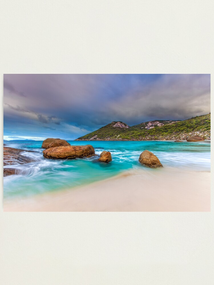 Alternate view of Secluded Beach Photographic Print