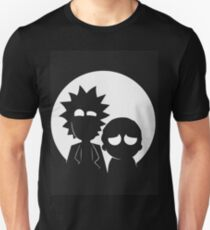 Rick and Morty (White) Unisex T-Shirt