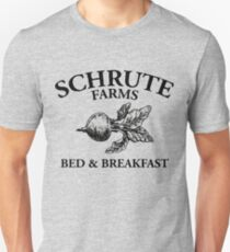 Schrute Farms - Bed and Breakfast - Logo - The Office Unisex T-Shirt