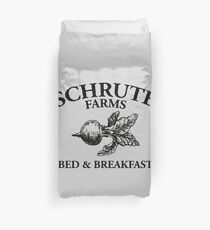 Schrute Farms - Bed and Breakfast - Logo - The Office Duvet Cover