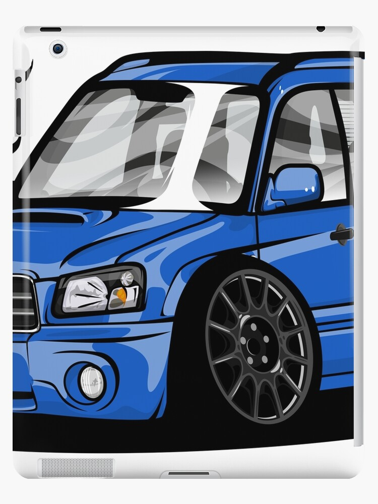 Subaru Forester Sg5 Ipad Cases Skins By Spraypatrick Redbubble