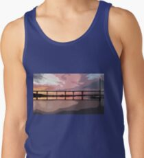 Sunset under the Crossing Tank Top
