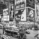 Times Square II Special Edition II (B&W) by Ray Warren