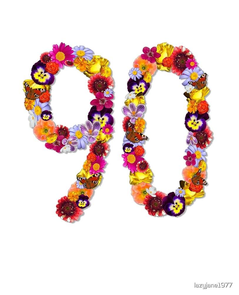 90th Flowers by lazyjane1977