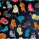Space cats by peggieprints