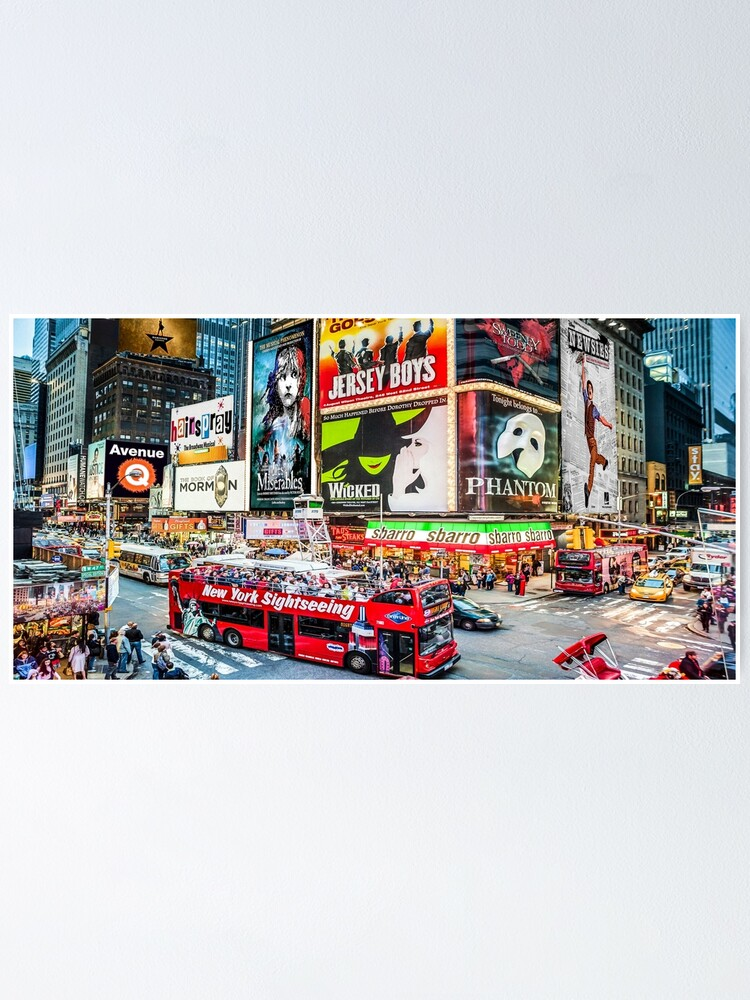 Alternate view of Times Square II widescreen Poster