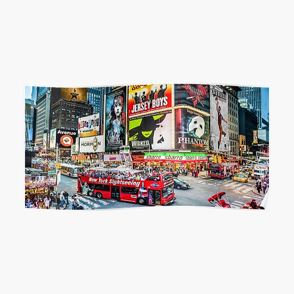 Times Square II widescreen Poster