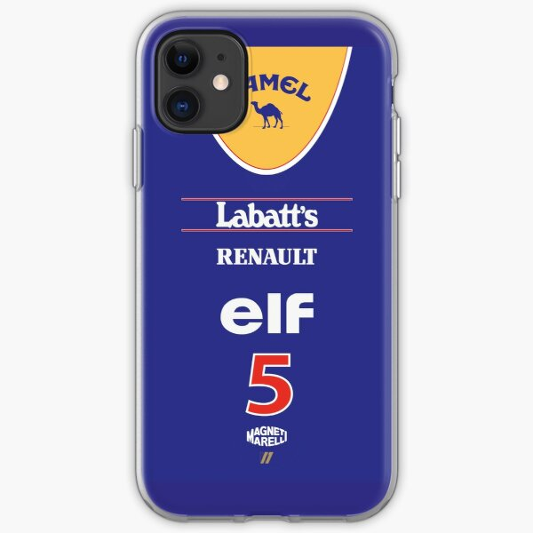 Williams FW14b Nigel Mansell 1992 Livery iPhone Soft Case