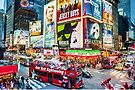 Times Square II (digitally repainted) by Raymond Warren