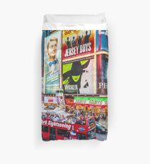 Times Square II (digitally repainted) Duvet Cover