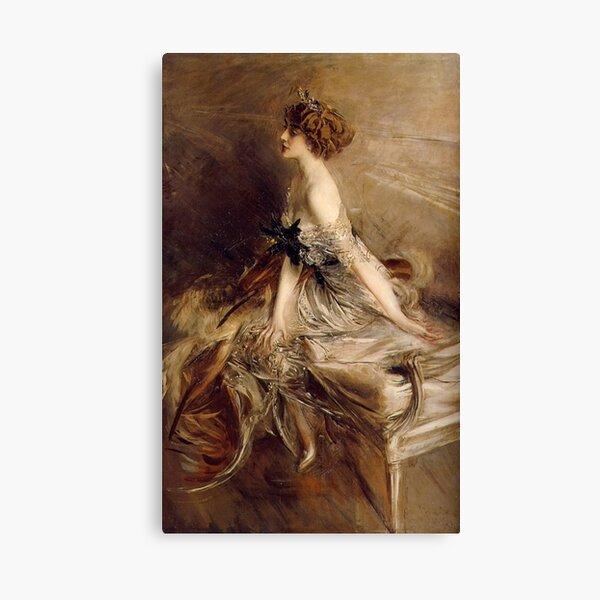 Vintage Giovanni Boldini Portrait-of-Princess-Marthe-Lucile-Bibesco-1911 Canvas Print